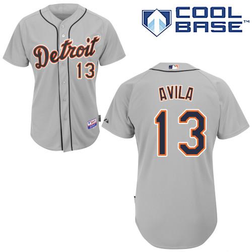 pretty nice 45d90 40ab1 Alex Avila #13 MLB Jersey-Detroit Tigers Men's Authentic ...