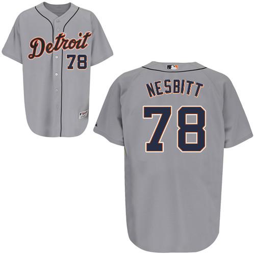 quality design 1b99b c1c21 Angel Nesbitt #78 mlb Jersey-Detroit Tigers Women's ...