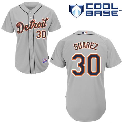 free shipping 0c2e6 fc599 Eugenio Suarez #30 Youth Baseball Jersey-Detroit Tigers ...